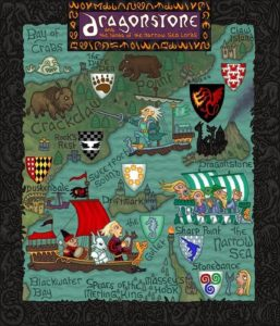 Game of Thrones - Carte moyen age (10) - Dragon Stone - Guillaume Sciaux - Cartographe professionnel