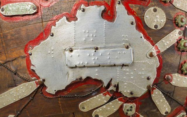 Globe braille Tunley - Guillaume Sciaux - Cartographe professionnel
