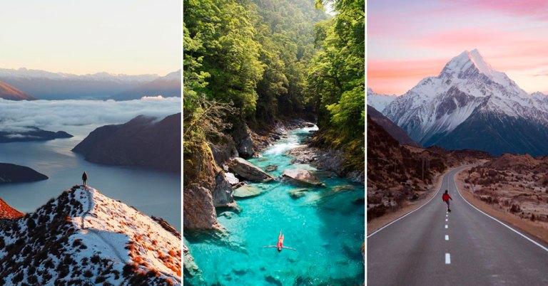 Nouvelle Zélande - Guillaume Sciaux - Cartographe professionnel
