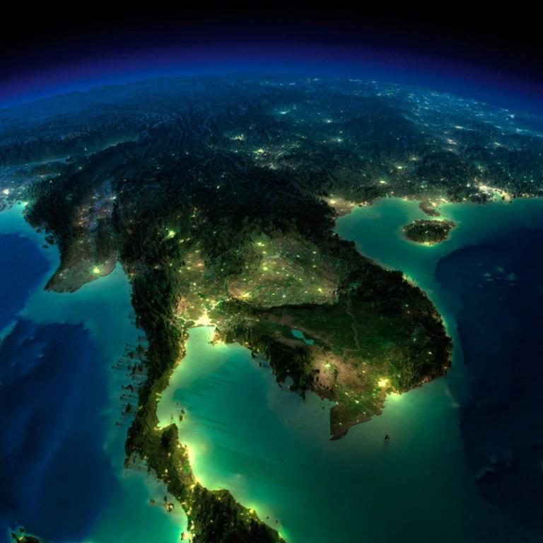 La Terre illuminée (1) - Guillaume Sciaux - Cartographe professionnel
