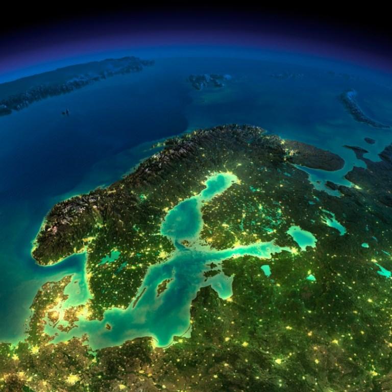La Terre illuminée (6) - Guillaume Sciaux - Cartographe professionnel
