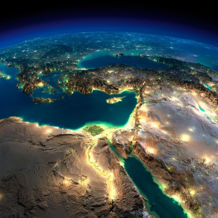 La Terre illuminée (8) - Guillaume Sciaux - Cartographe professionnel
