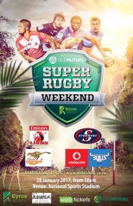 The Super Rugby Weekend @ National Sports Stadium