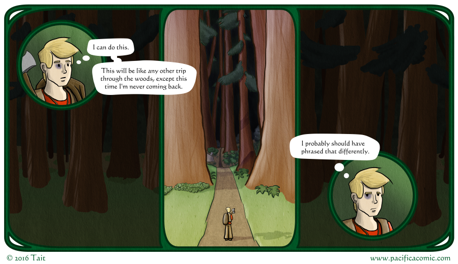 Pacifica: Finding a Path - At the Entrance