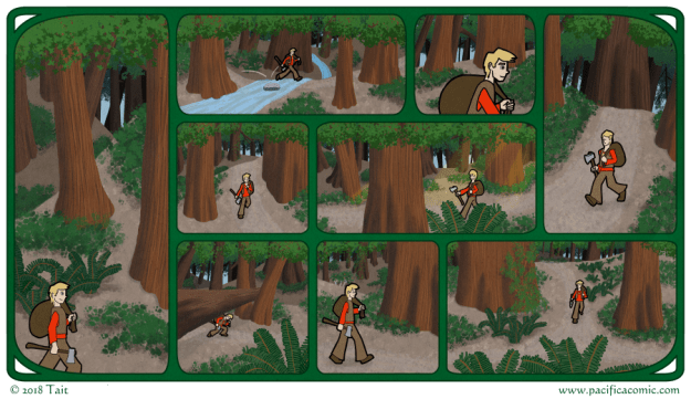 Pacifica Comic - Through the Woods