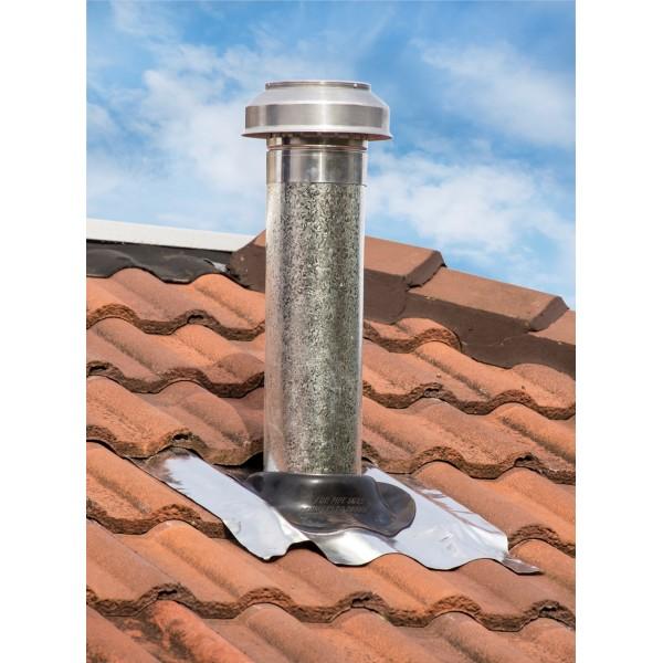 150mm tiled roof range hood vent kit