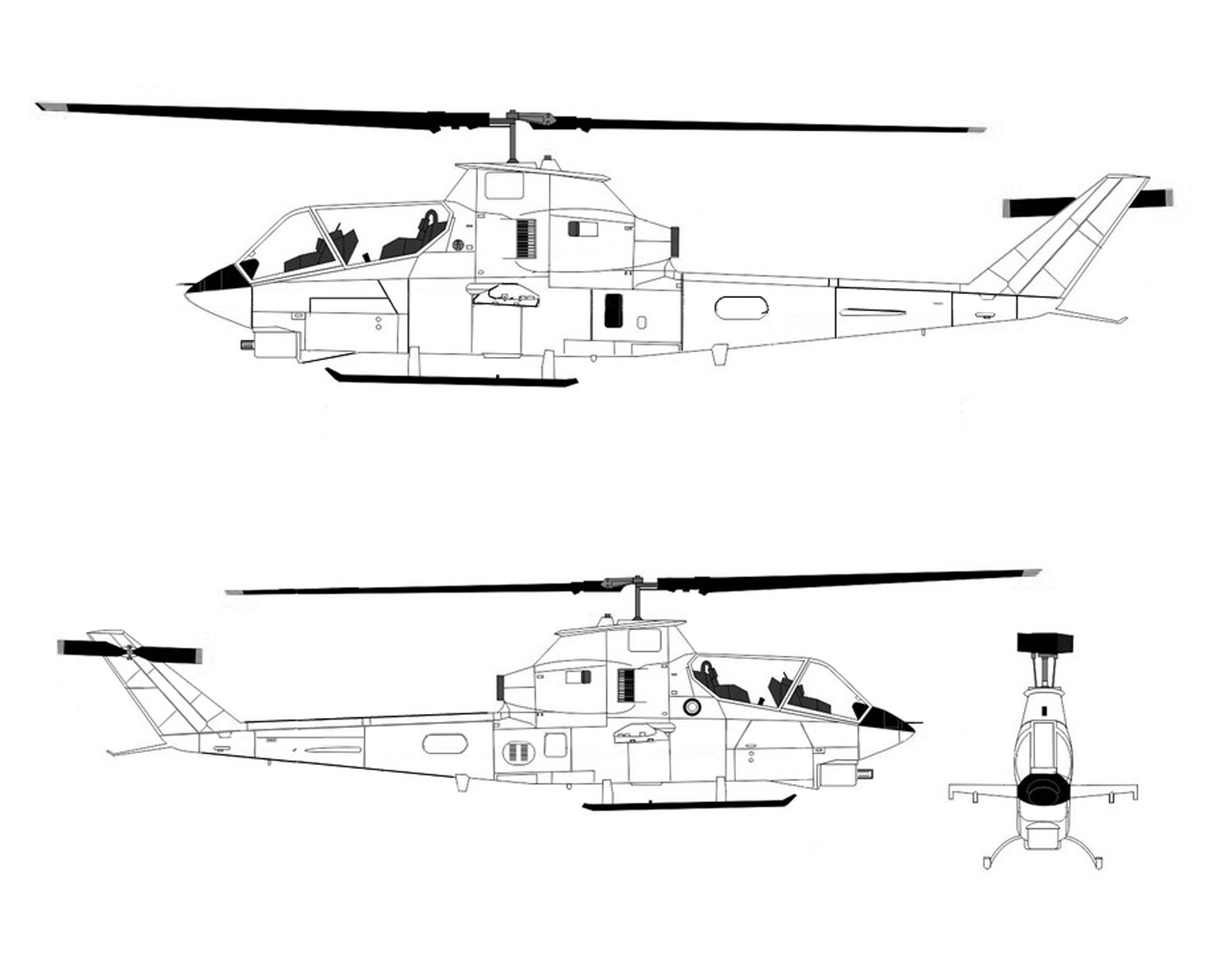Bell Ah 1 Cobra Helicopter