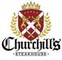 logo: Churchill's Steakhouse | Pacific Coast Hospitality client