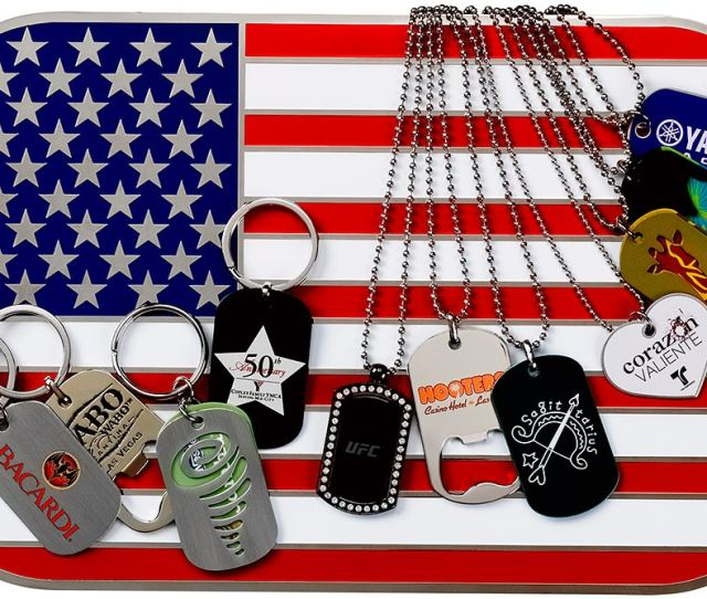 Custom Dog Tags And Dog Tag Bottle Openers