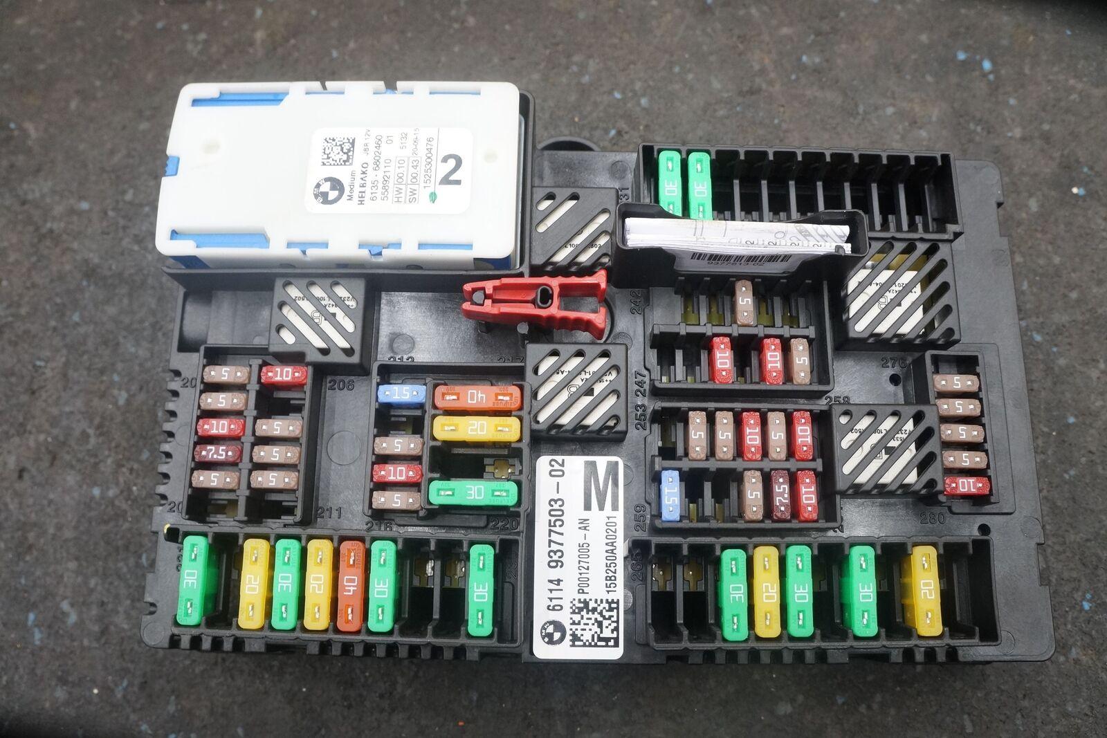 Rear Power Distribution Fuse Box Block 61149377503 BMW ...