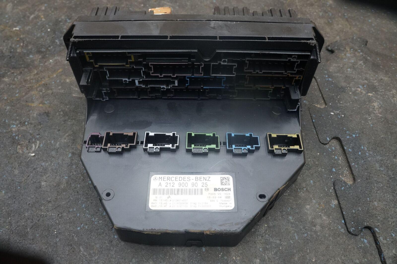 Signal Activation Module Sam Fuse Box Relay 2129009025 Mercedes E350 2011 Benz