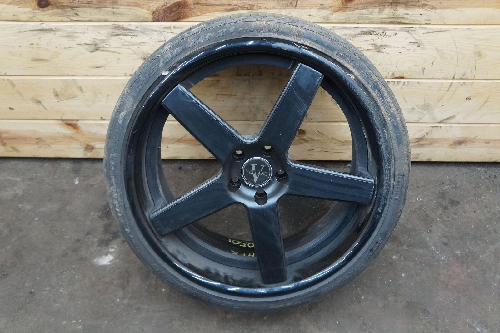 Front Wheel Rim Tire 2111 5 Spoke Vellano 51143 Et45 Nissan Gtr Gt R Rims