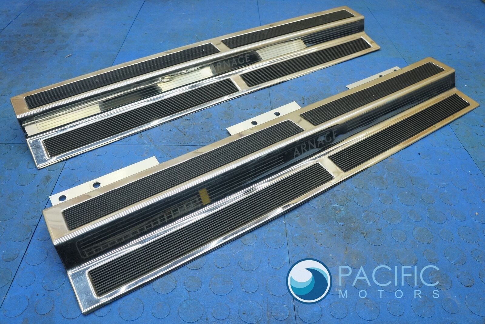 Set 2 Front Door Sill Scuff Plate Mount Ps110747pa Ps110747pa