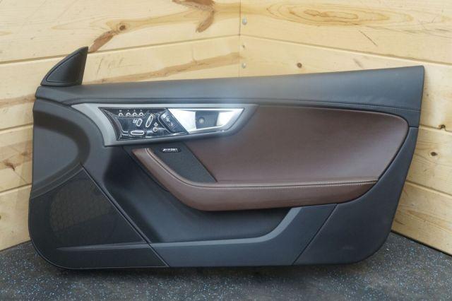 Front Right Passenger Interior Door Trim Panel Black Brogue Jaguar F