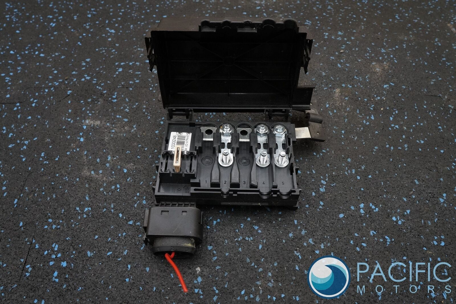 battery fuse box 3w0937550a oem bentley continental gt 2007 rh pacificmotors com bentley continental fuse box bentley continental fuse box diagram