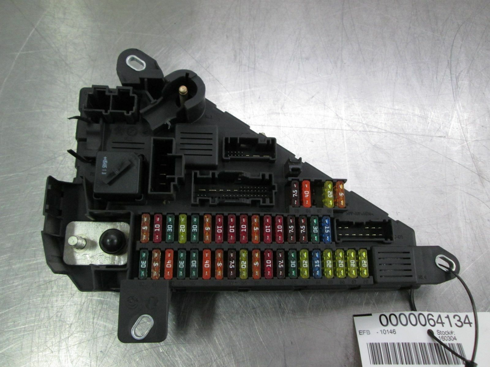 M5 Fuse Box Doing Wiring Diagram The New Way Location On 2013 Ford Explorer Rear Power Distribution 61149138830 Bmw E60 2006 09 Rh Pacificmotors Com F10