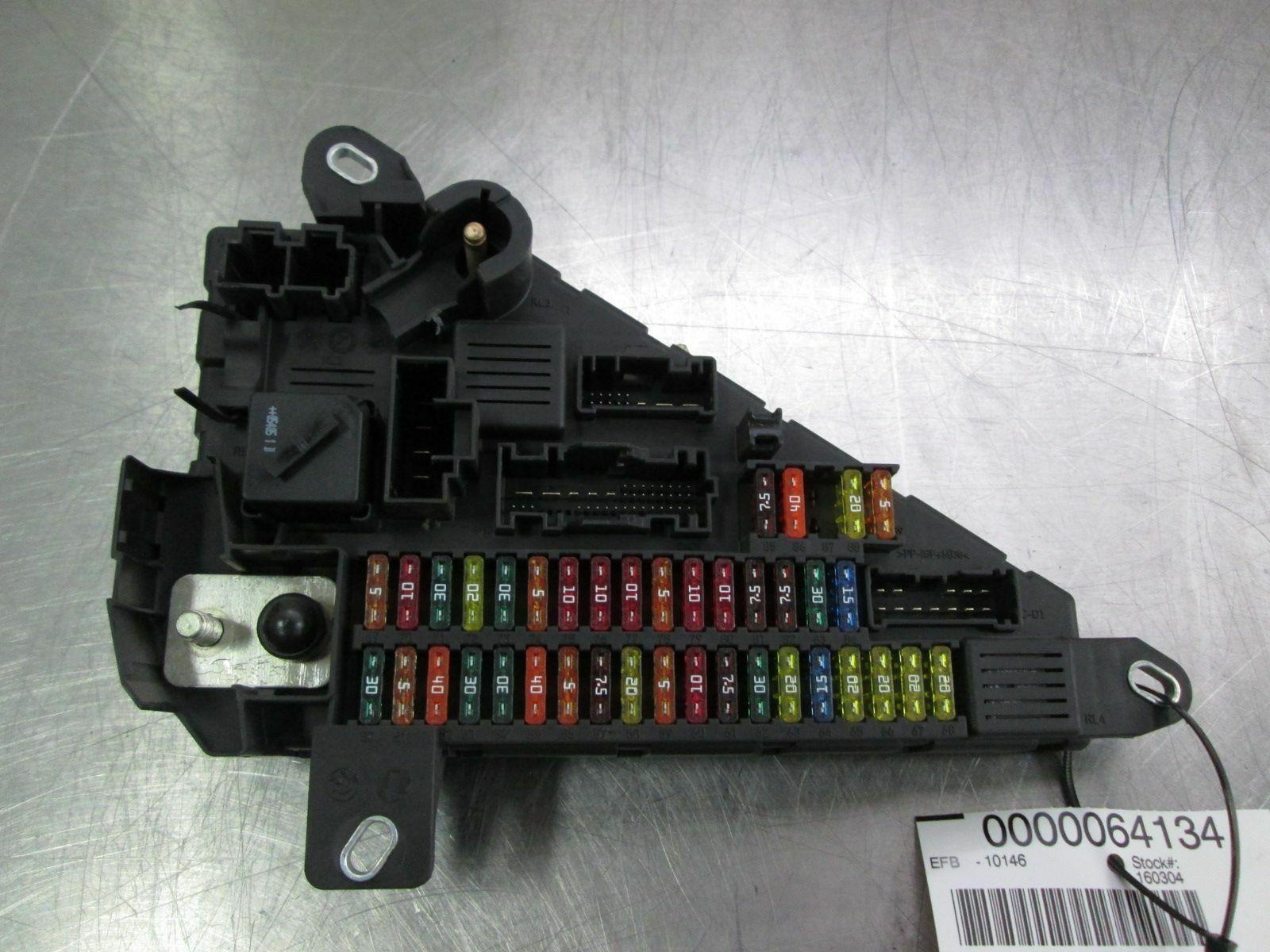 bmw fuse box e60 wiring library  rear power distribution fuse box 61149138830 bmw m5 e60