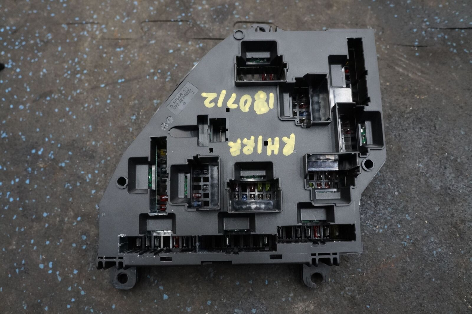 2013 Bmw M5 Fuse Box Electrical Wiring Diagrams Fiat 500 Rear Power Distribution Block 61149264923 F10 2015