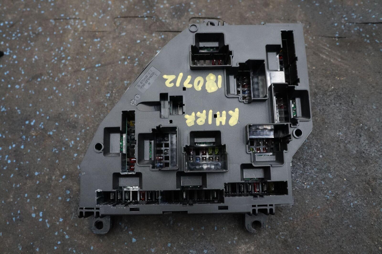 2013 Bmw M5 Fuse Box Electrical Wiring Diagrams Fiat 500 Rear Power Distribution Block 61149264923 F10 2015