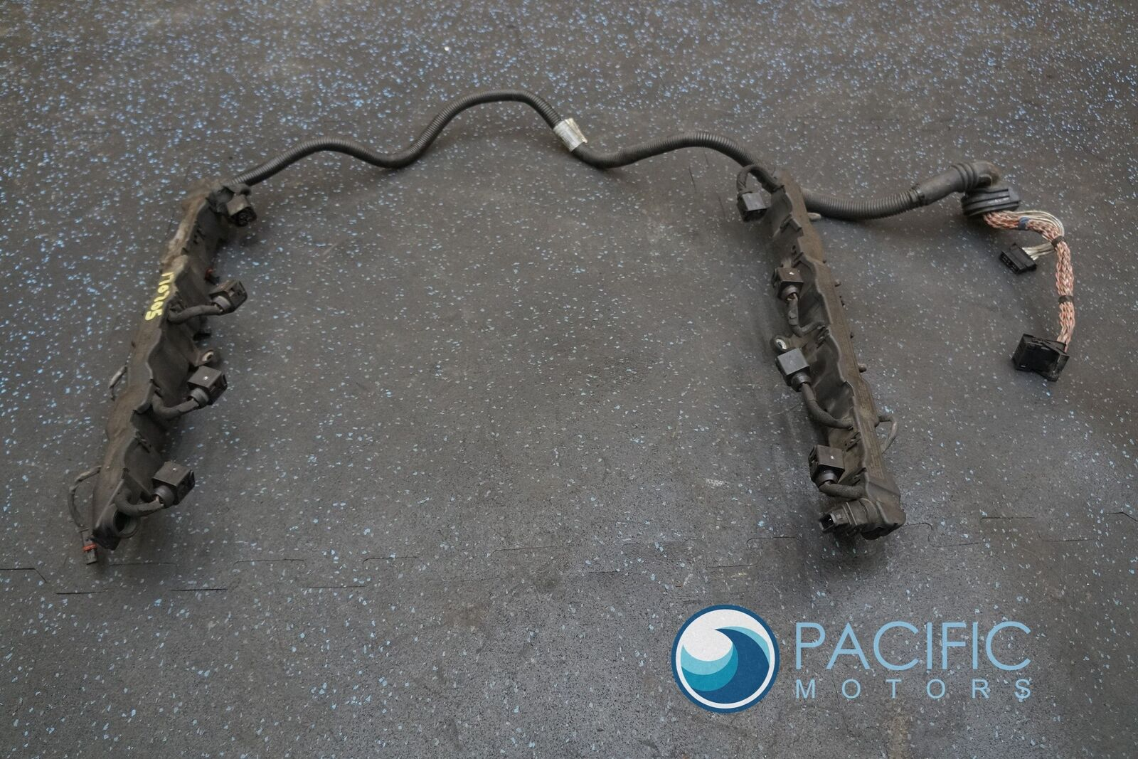 Engine Fuel Injector Wiring Wire Harness 12517585103 Bmw 550i Gt F01 Injection