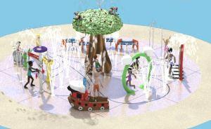 Splash Pad Design for Margarita Community Park in Temecula