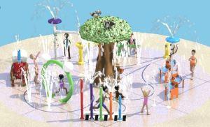 City of Temecula Margarita Community Park Splash Pad