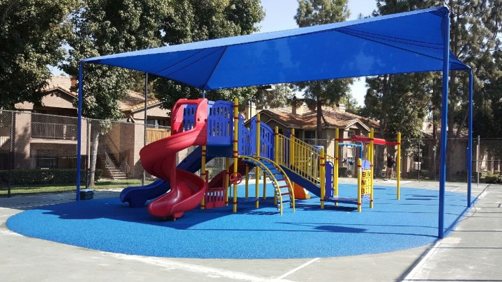 Terracina Apartment Homes' brand-new playground