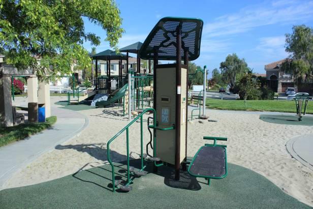 Scripps Highland HOA exercise equipment