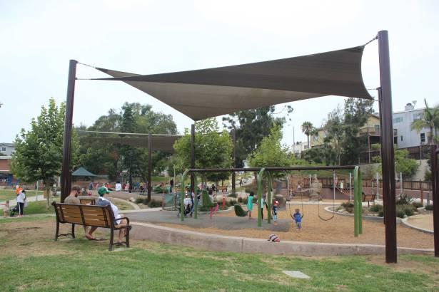 Hermosa Beach playground