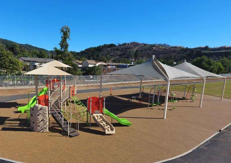 Playground provider for Orange Glen Elementary
