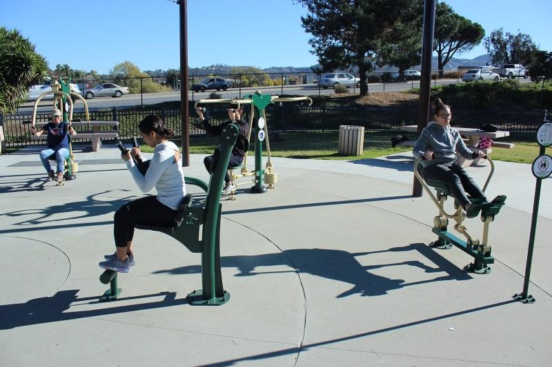 Exercise-park-Equipment