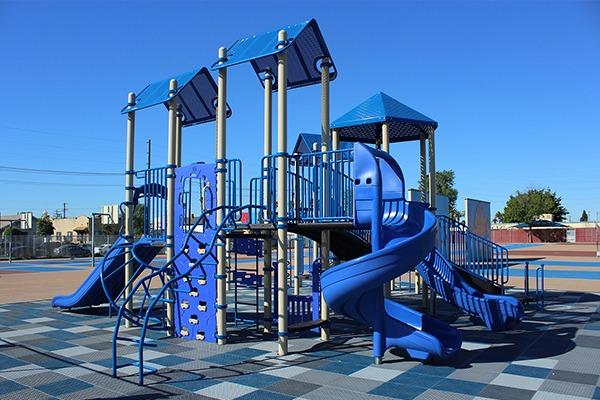 LA USD Loren Miller Elem School Playground Equipment