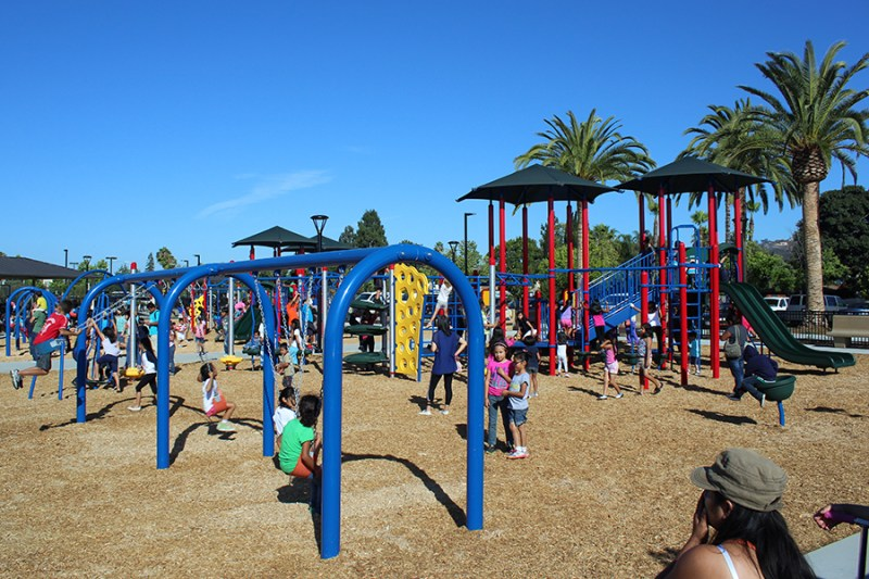 Connors Park Riverside County playground equipment