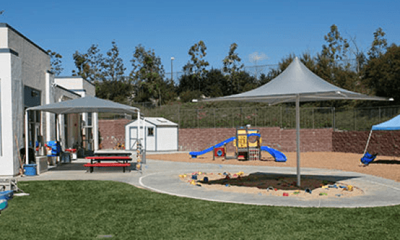 Playground of Pacific Preschool at Ladera Ranch