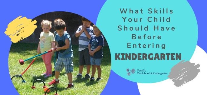 What Skills Your Child Should Have Before Entering Kindergarten
