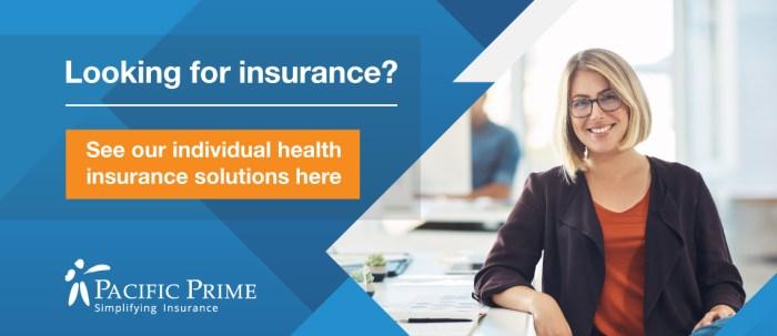 Individual health insurance blog