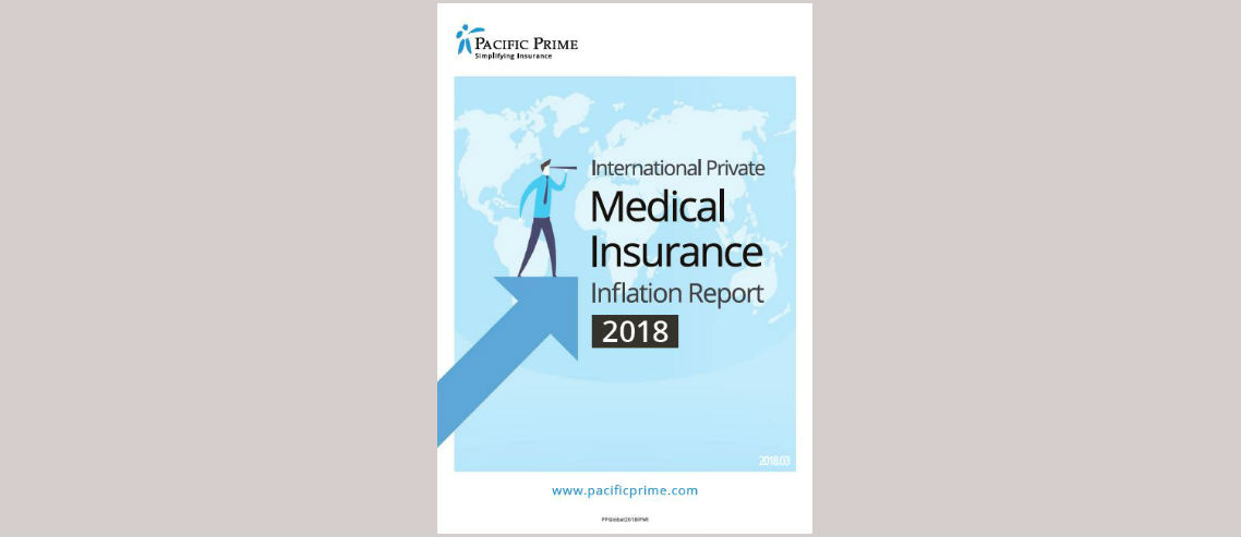 International Private Medical Insurance Inflation - 2018 report front cover