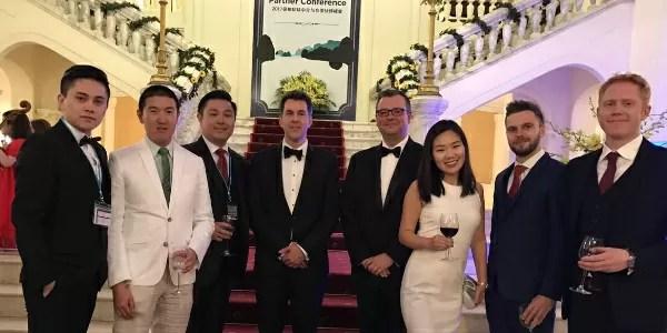 The Pacific Prime China team at Bupa's award showcase