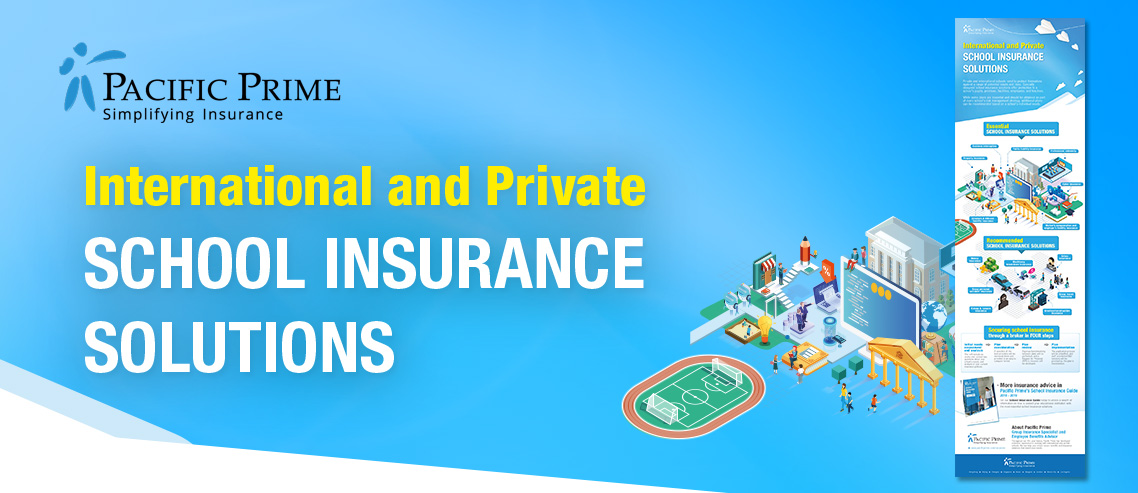 Infographics of international and private school insurance released!