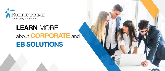 Corporate insurance banner