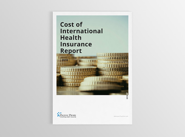 Cost of Health Insurance 2016 Front Cover