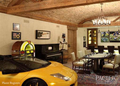 Plaster garage Pacific Register