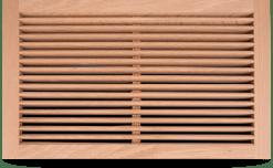 wood register Flush Rim