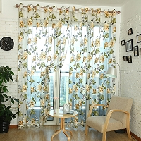 Lime Green Gingham KitchenCaf Curtain Unlined Or With White Or Blackout Lining In Many Custom