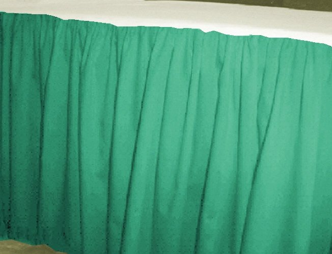 Solid Jade Green Colored Bedskirt In All Sizes From Twin To Cal King Also In Crib Size And