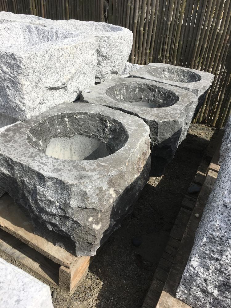 Black Basalt Basin Japanese Stone Lanterns Amp Basins