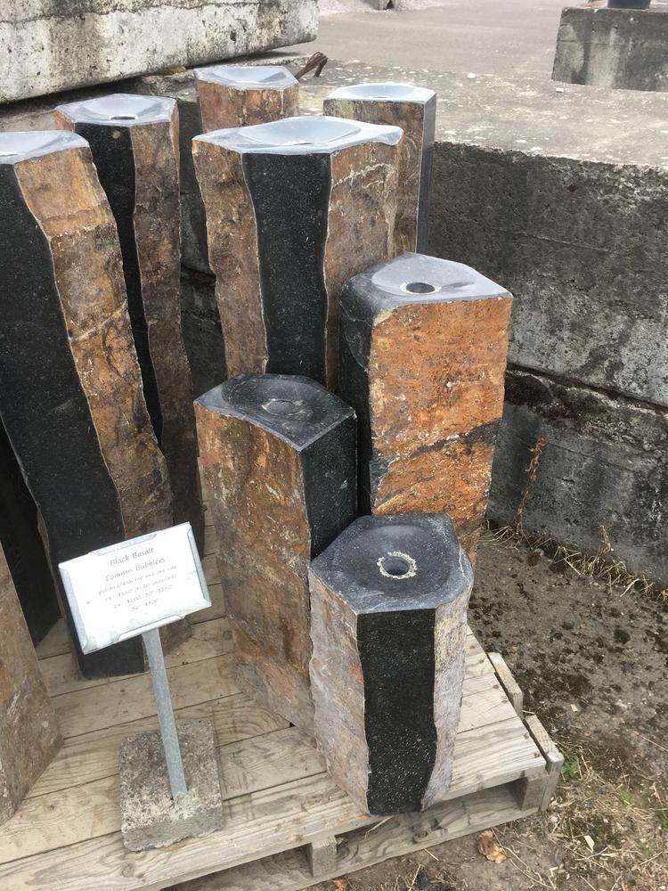 Bronze Column Bubblers Stone Columns Amp Bowls
