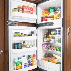Jayco2017_JayFeather_23RBM_RefrigeratorOpened