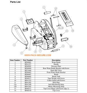 Manual Tape Machine | TDH | Marsh Taper | PackSecure