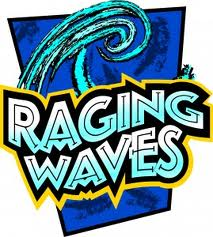 Raging Waves Logo Riverside Pack 24 Cub Scouts